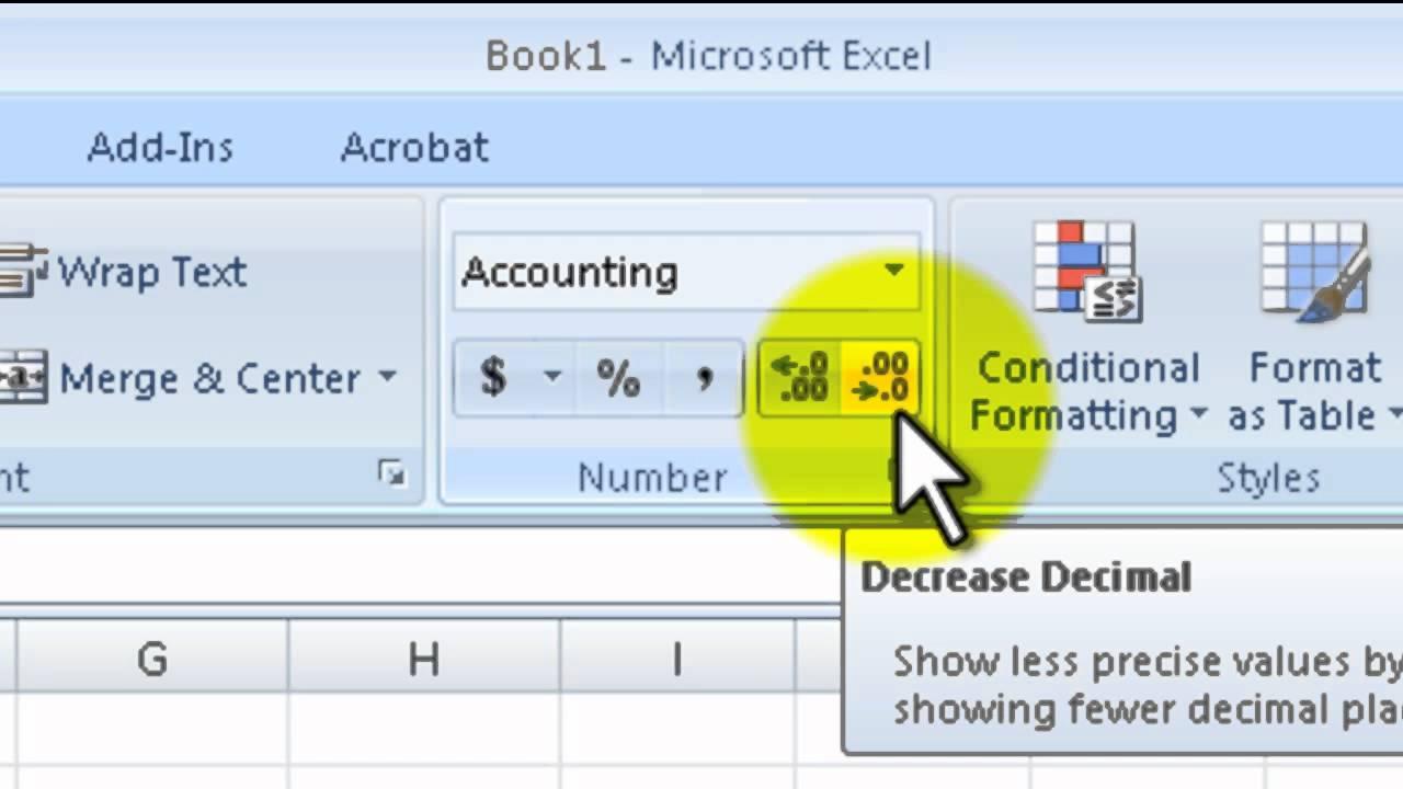 Microsoft Excel - formatting money - YouTube