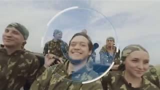 Академия Милитари.РФ  Катание на танке и БТРе