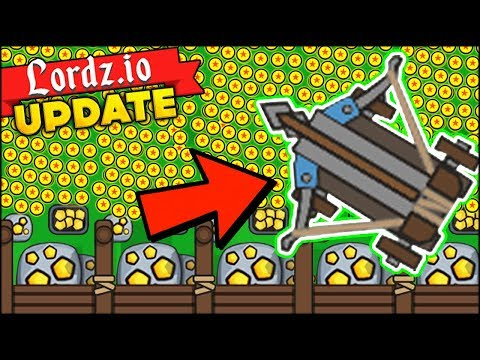 BRAND NEW BALLISTA TURRET FOR 1000$, GOLD MINES AND MAGE TOWERS (Lordz.io Dragon New Update)