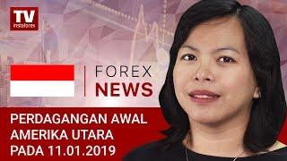 InstaForex tv news: 10.01.2019: Tidak ada yang berani membeli USDX
