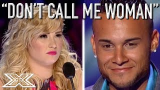 Latin Ice Cream Man Jorge Pena Insults ANGRY Demi Lovato! | X Factor Global thumbnail