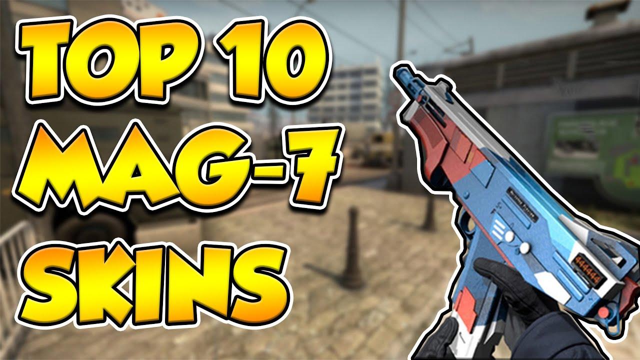Cs Go Top 10 Mag 7 Skins Youtube