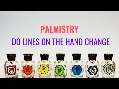 PALMISTRY - DO LINES ON THE HAND CHANGE