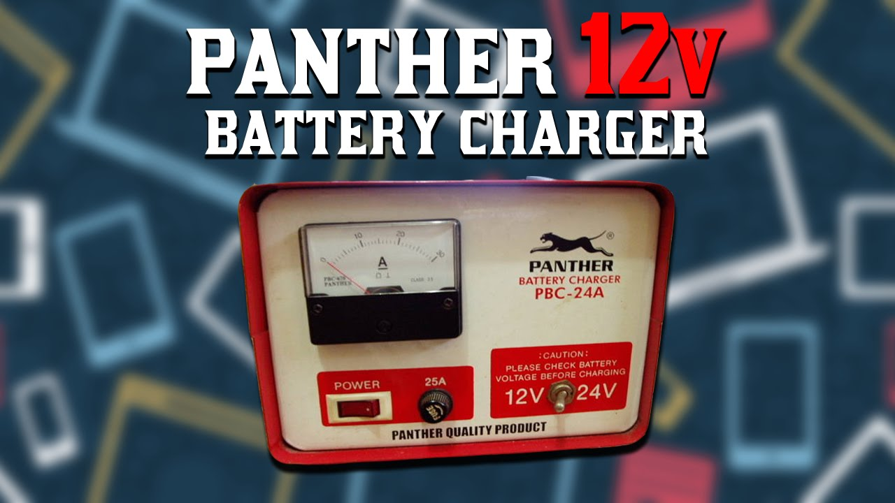 Panther 12 Volt Battery Charger Youtube 12v Circuit On Car Schematic Diagram