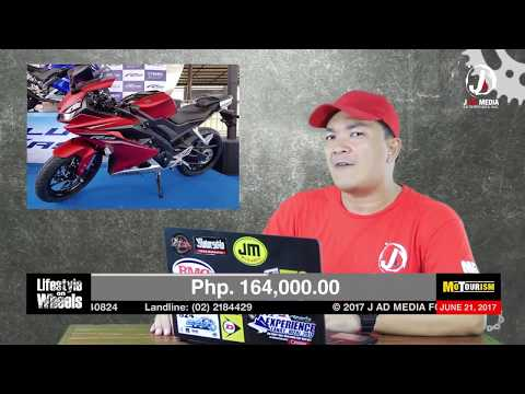 Yamaha Philippines with their New YZF-R15