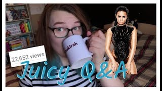 Demi's Out of Rebab, the Afterlife & My K-Pop Video || Juicy Q&A
