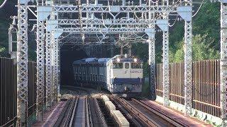 【甲種輸送】EF65 2096牽引、東京メトロ13000系 2019.11.10