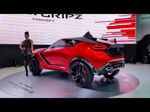 Nissan Gripz Concept at Frankfurt Auto Show 2015