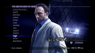 Resident Evil 6 / Left 4 Dead Crossover The Mercenaries No Mercy Gameplay Nick (Solo)