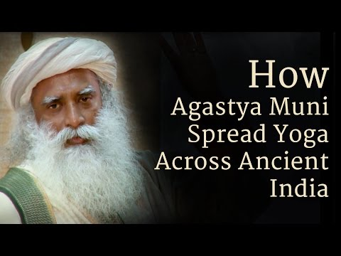 How Agastya Muni Spread Yoga Across Ancient India