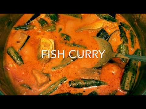 Simple Malaysian Fish Curry