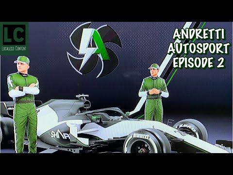 F1 my team: ANDRETTI AUTOSPORT (#2) [Australia Race]
