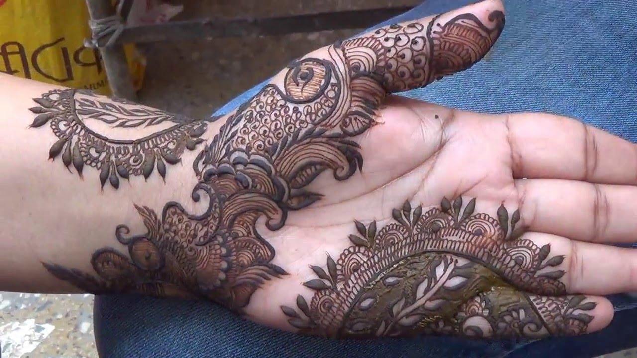 Mehndi Modern Arabic : Modern indian dubai arabic mehndi design mehndiartistica