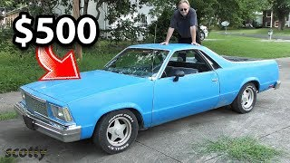 Did I Just Buy a $500 El Camino