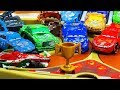 Crashed Cars Crazy 8 Demolition Derby Tournament  Disney cars Toys