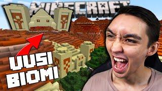 HARVINAISIN ALUE Minecraftissa!