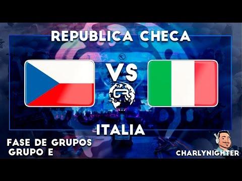 CR WORLDS   REPUBLICA CHECA VS ITALIA  GRUPO E   CLASH ROYALE