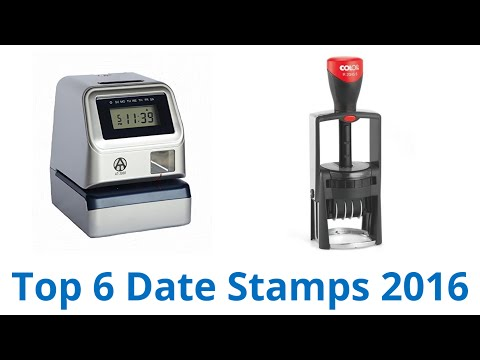 6 Best Date Stamps 2016