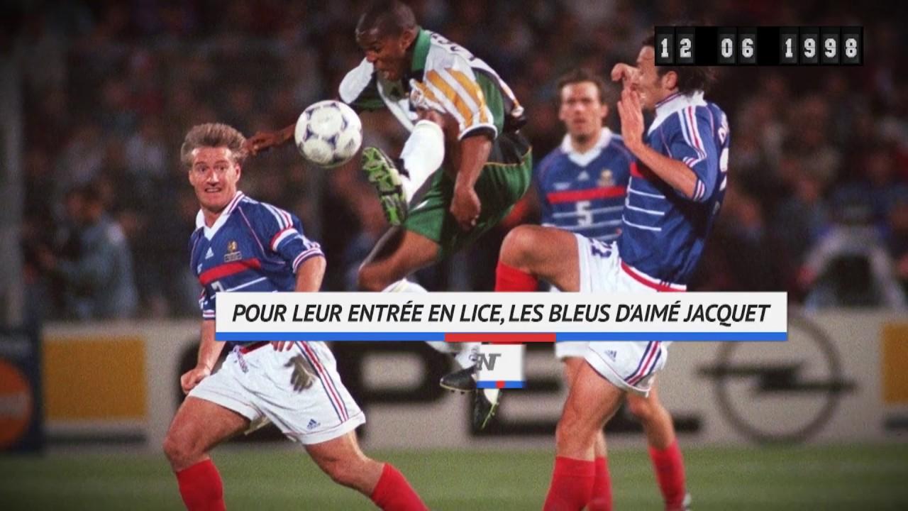 12/06/1998 - Dugarry, Vélodrome, Afrique du Sud : Le début du rêve bleu