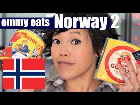 Emmy Eats Norway 2 - tasting more Norwegian treats