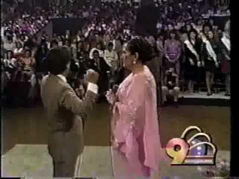Lola Beltrán y Juán Gabriel -POPURRI RANCHERO- 1984 .