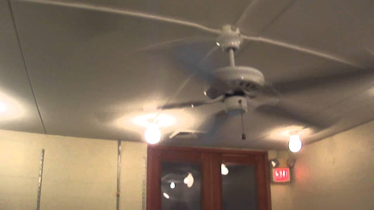 52 Quot Hampton Bay Landmark Ceiling Fan 4 Of 4 Youtube