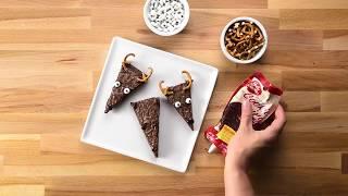 Brownies en Forma de Renos