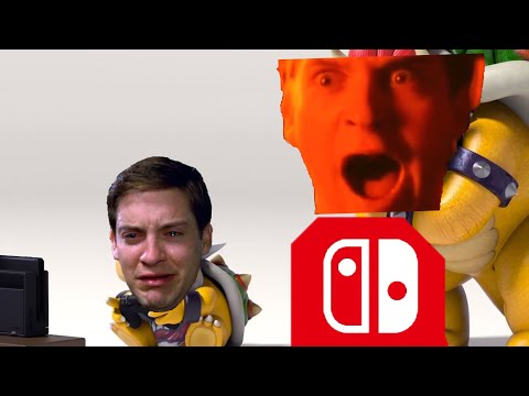 YTP- Bowser Jr Wants Pizza Time On The Switch