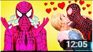 스파이더 맨 SpiderGirl 로맨틱 핑크 프랭크 Realife 의 슈퍼 히어로 에 실제 필름을 비교