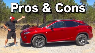Reasons FOR and AGAINST: 2019 Lexus RX 350 on Everyman Driver
