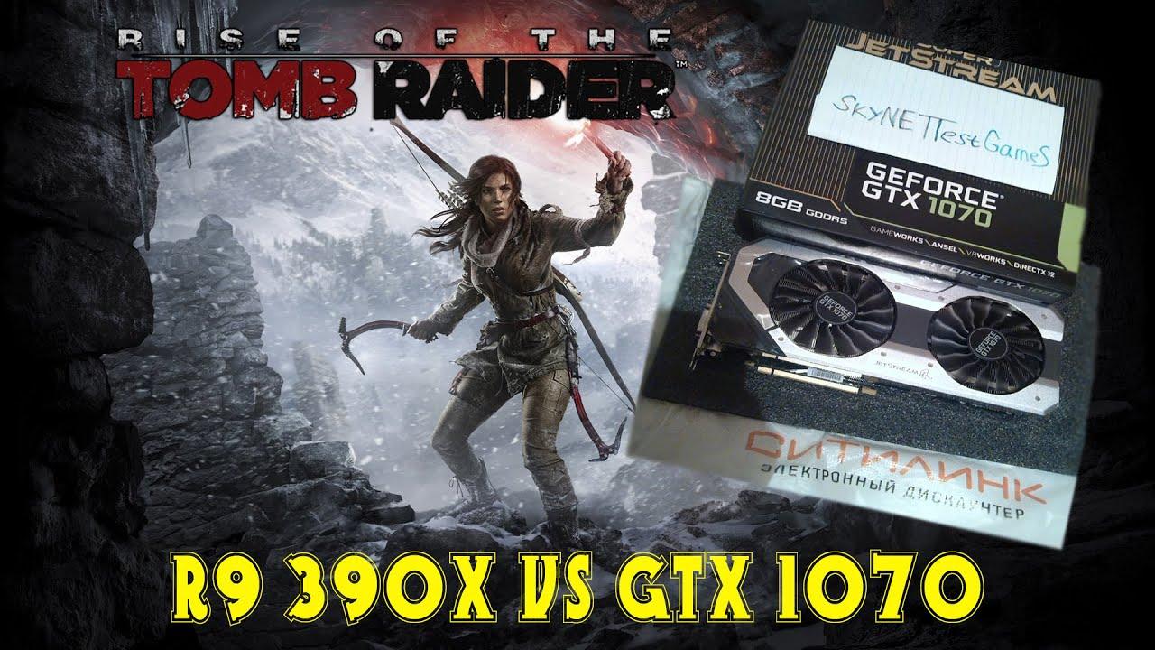 R9 390 Vs Gtx 1070