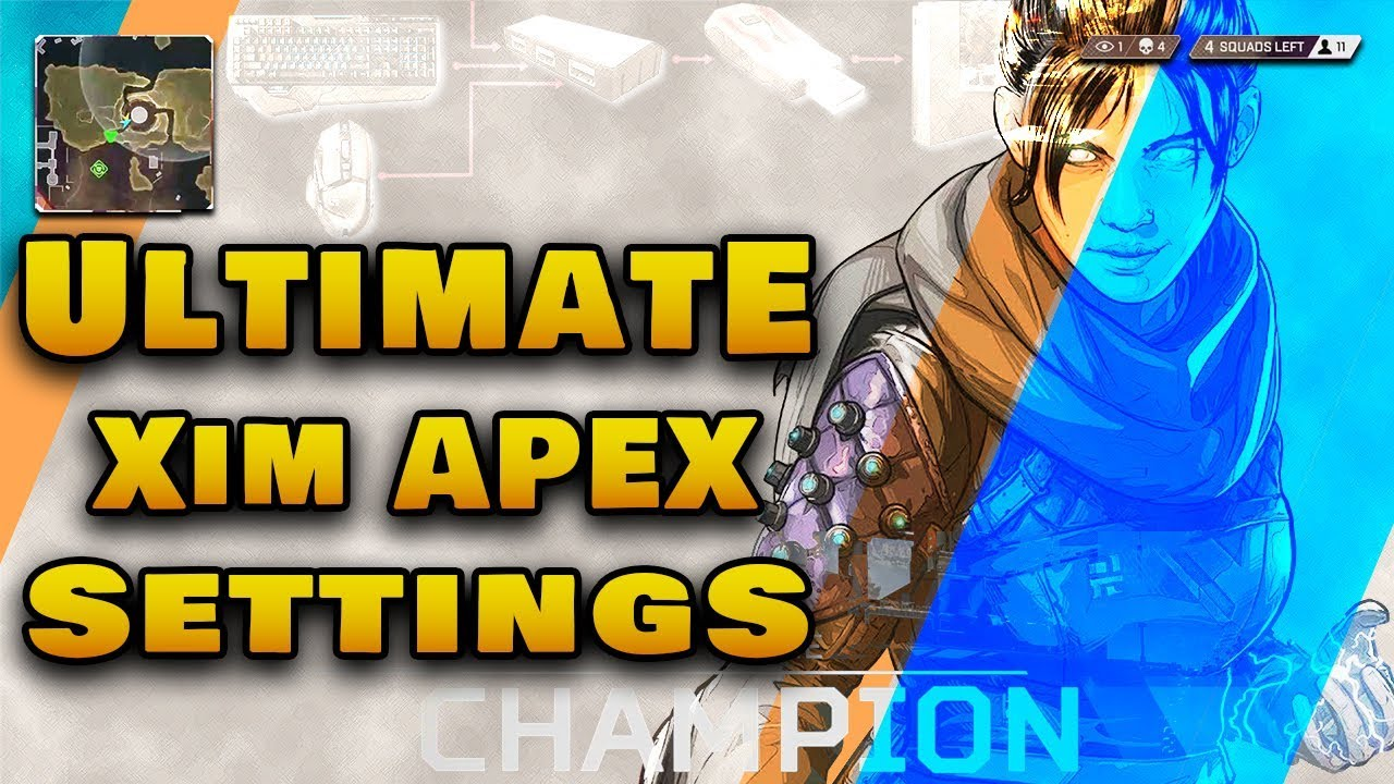 Ultimate Xim Apex Settings | APEX Legends | Settings and Config by Mr  Omega