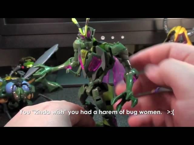 Vangelus Review 53 - TF Animated Waspinator