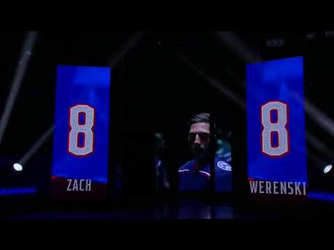 Columbus Blue Jackets Player and Coach Introductions 2017
