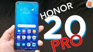 Honor 20 Pro: First Look | Hands on | Price | [Hindi हिन्दी]