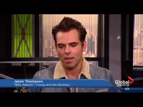 Jason Thompson  Talks Y&R, Fatherhood, & Canadian Hometown