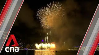 Singapore rings in 2020 with spectacular fireworks show