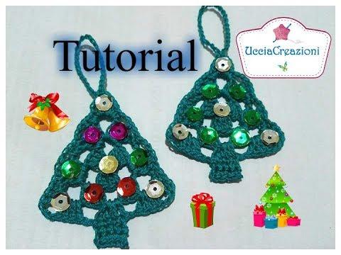 Albero Di Natale Alluncinetto Semplicissimo.Tutorial 24 Alberello Di Natale Semplicissimo All Uncinetto How To Crochet Christmas Tree