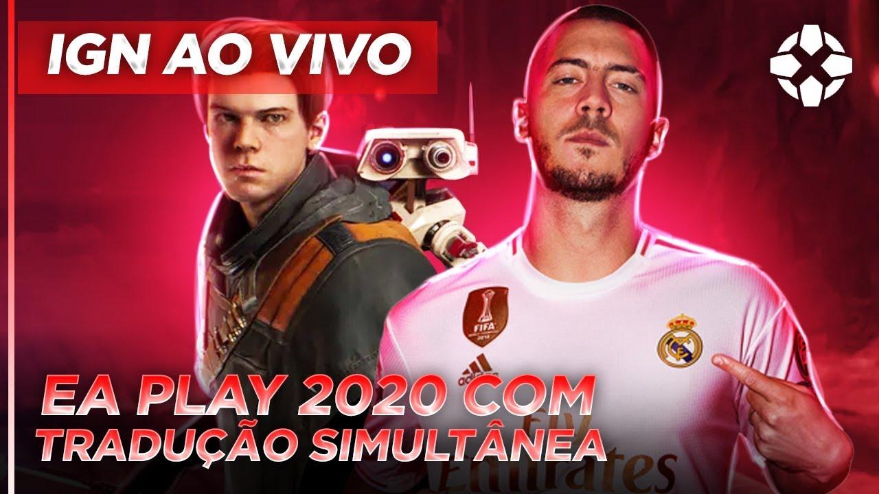 EA PLAY 2020 | CONFERÊNCIA AO VIVO DUBLADA EM PORTUGUÊS | IGN AO VIVO