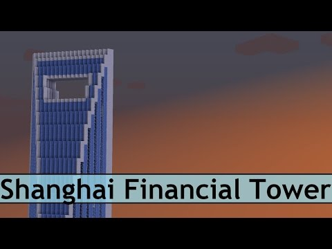 Minecraft Shanghai Financial Tower Tutorial