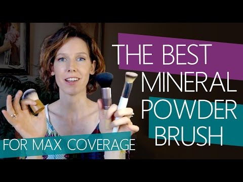 Best Brush for Mineral Powder Foundation Coverage