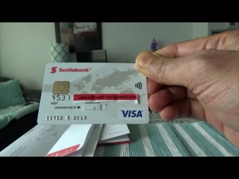 Scotiabank Rewards Visa Credit Card Unboxing and Brief Review by Financial Author Ahmed Dawn