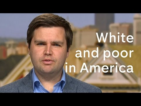 JD Vance on growing up white and poor in America