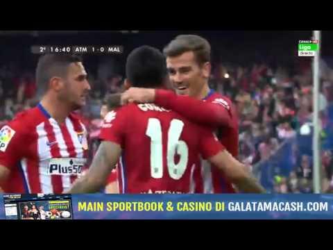 Atletico Madrid  1 - 0  Malaga 23-04-2016