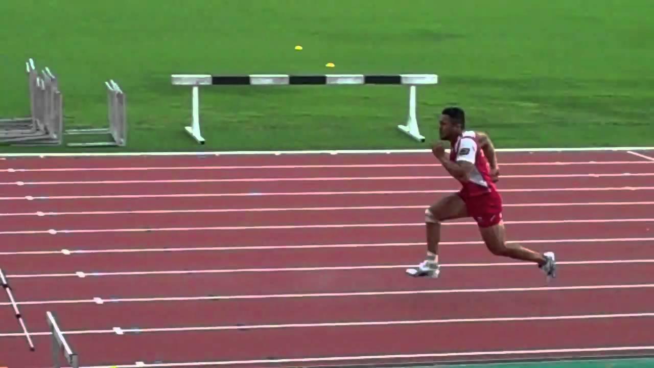Queensland Reds Digby Ioane 40m Sprint Youtube