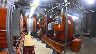 big diesel generator start up
