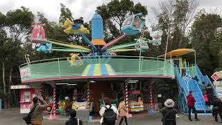 福岡市動物園の観覧車・メリーゴーランド・アストロメリー