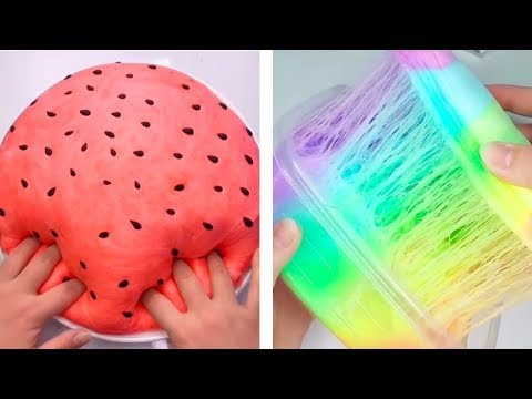 The Most Satisfying Crunchy Slime ASMR Videos 2019 😍 Slime Satisfactorio y Oddly Satisfying 2019