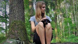 24 Stunden allein im Wald Vanessa´s erste Solo -Tour Teil 1 - OutdoorBavaria HD-HQ