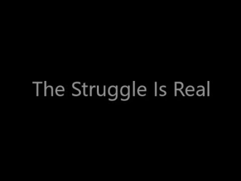 Blacklite District - The Struggle(Lyrics Video)